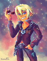 Young Klavier by Kosmotiel