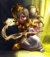 Chromie FanART by animator00