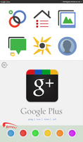 Google+ Icons by chrisringeisen