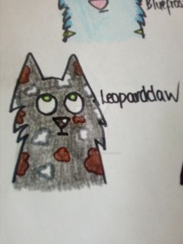 Leopardclaw headshot by Blue-frost-warrior