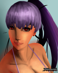 Ayane - Dead or alive: Vacation by jamescampbell11