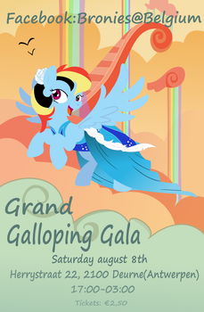 Bronies@Belgium: The grand galloping gala by BlueThunder66