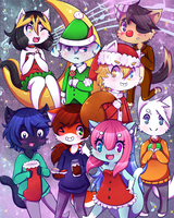 MERRY CHRISTMAS CHIBI! by the-electric-mage