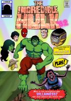 The Incredible Hulk: Red Alert Cover. by MikeMcelwee
