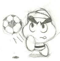 Goombario Striker 'V2' by ZeoLightning
