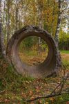 Concrete Circle by ManicHysteriaStock