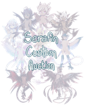 [CLOSED, TYSM!] Serafin Custom Auction 01 by dracooties