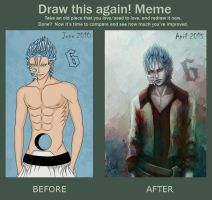 Draw This Again Meme - Grimmjow by Roksiel