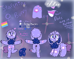 Starshine Reference Sheet June 2018 by ChristyPaws