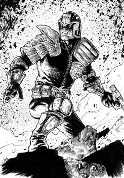 Judge Dredd by abc142