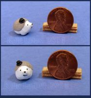 Miniature Hedgehog Wearing A Top Hat No 3 by Kyle-Lefort
