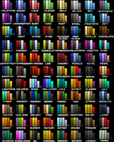 Color Chart by ThunderRebel15