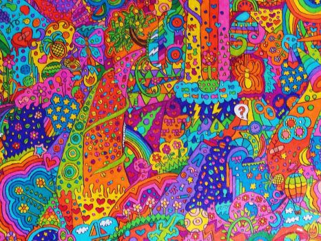 Psychedelic Detail part 3 by vazest