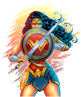 Wonder Woman by KeithByrne