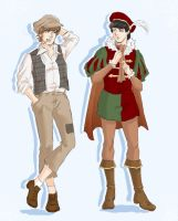 JP AU: The Prince and the Pauper by ayumi58
