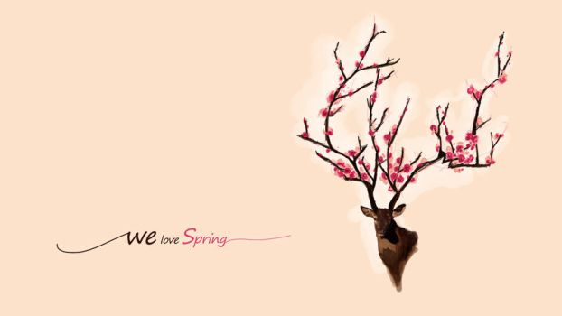 we love spring wall by dreamzZzcatcher