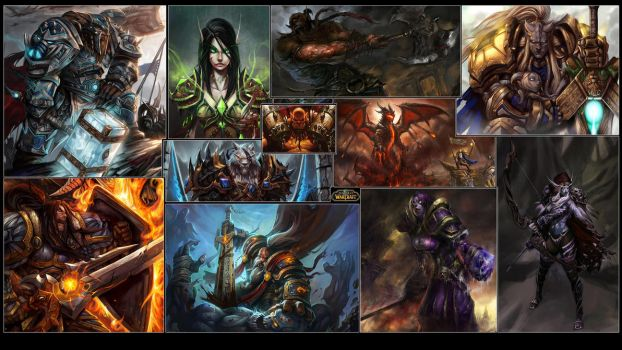 World Of Warcraft Wallpaper by GT-Orphan