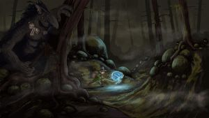 Beware the things in the woods by Kalopz