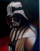 Darth Vader by EvilleArt