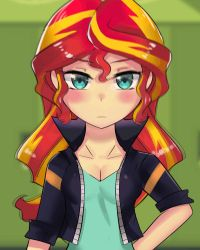 Sunset  Shimmer Emote by iojknmiojknm