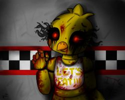 FnaF~Chica by valescalove321