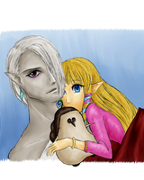 GhiraZel - Collab by Link-of-the-twilight