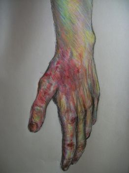 Hand Sketch by miamary123456