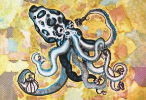 Octopuses Garden Party completed by Malice-InWonderland