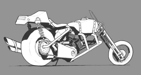 Sniper bike by JonEastwood