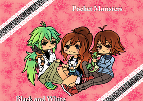 Pocket Monsters by xFannyx