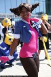 Tron Bonne with Servbots by foolycoolycosplay