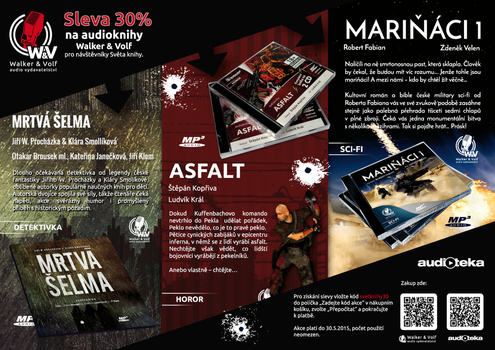 Flyer for Audiobooks by petrsimcik