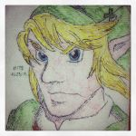 Napkin Art 178 - Courageous Hero - Legend of Zelda by PeterParkerPA
