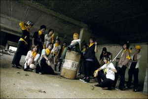 Cosplay : YellowFlag Orchestra by kafkapz