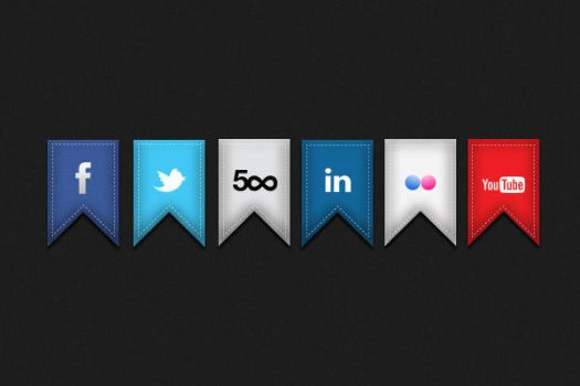 Social Ribbons Part 1 by differenthuman