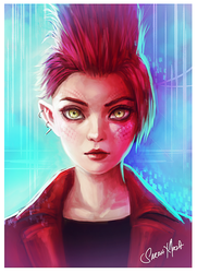 Ready Player One - Art3mis by ceriselightning