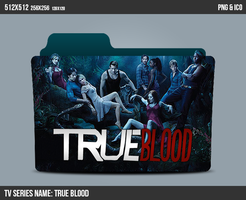 True Blood Folder ICON by kasbandi