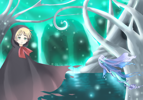 APH - Mystical forest by Mi-chan4649