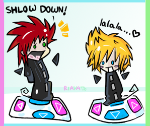 It's time to DDR 8D by keybladez