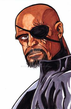 Nick Fury by TonyMiello