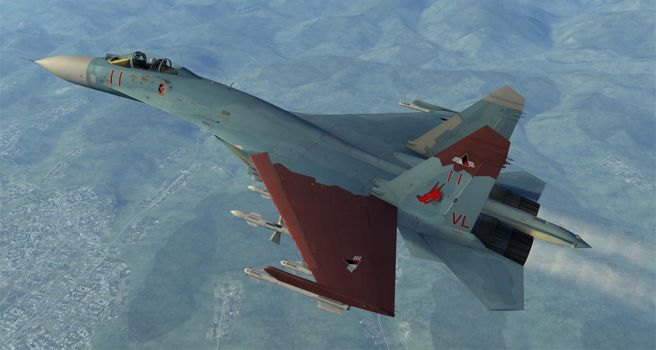 DCS Galm 2 Su-27 Broken Mirror AU. by ACZCipher