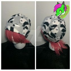 Panda-Print Fleece Hat[Gift] by KyosWorkShop