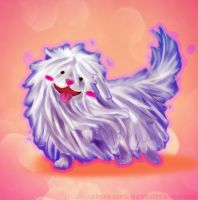 Mop Dog by Morigalaxy