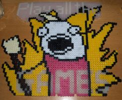 Play ALL The Games - Perler or Hama by Chrisbeeblack