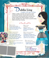 Dahlia Ling ~  Ever After High OC by luvmyemobud