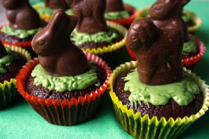 Easter Cupcakes by behindthesofa