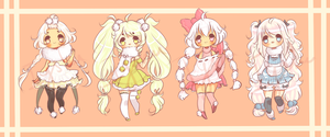 Fluffy Baes Adoptable Auction [closed] by Iy-shu