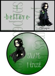 Snape. by obsydia