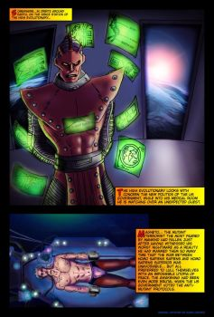 Page 1 Magneto mini Serie by Sandy-reaper