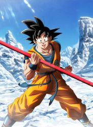 Goku in upcoming movie - dragon ball super by JyuNanohara